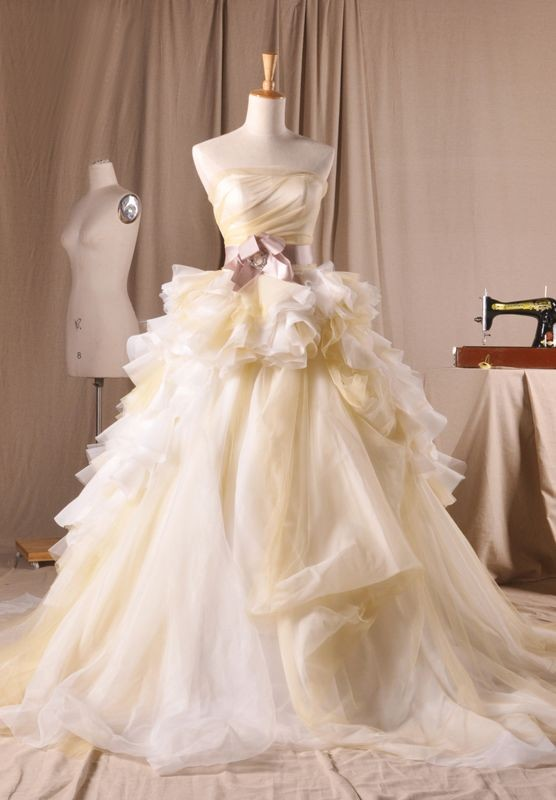 autumn ball gown wedding dress