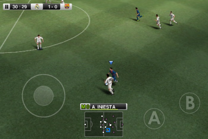 Free Download Android PES 2012 Full HD APK + Data Full Version Terbaru