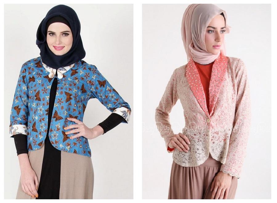 Koleksi Baju Muslim Variasi Batik 100 Images 24