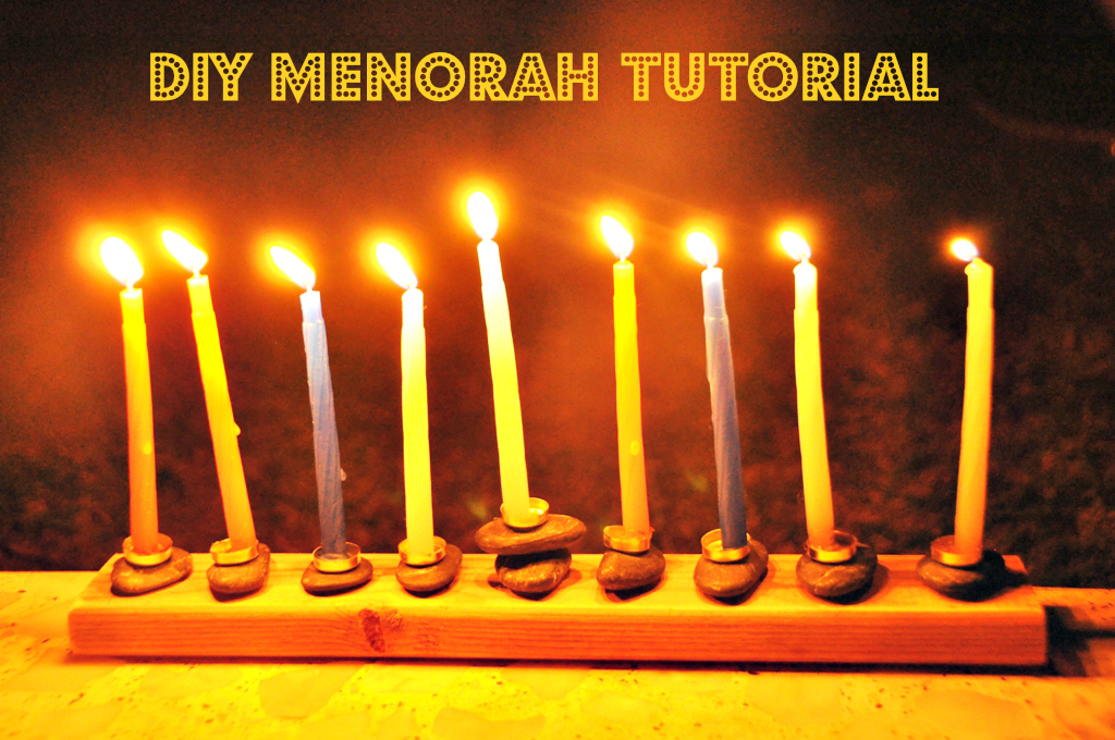 DIY Hanukkah Tutorial on Sugar Bee Crafts