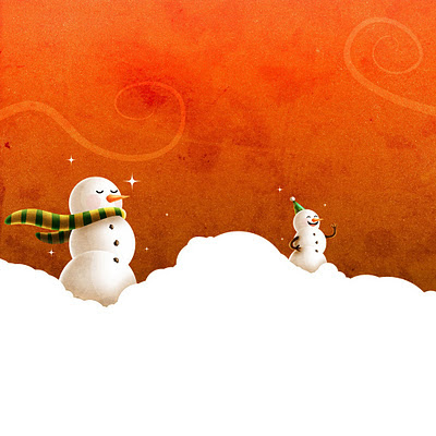Christmas winter snowmen download free wallpapers for Apple iPad