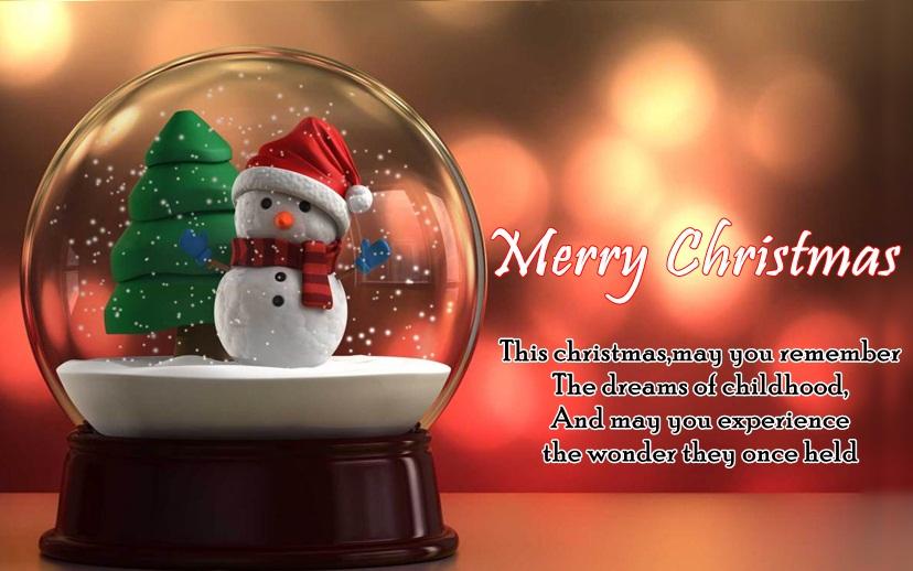Merry CHristmas Cute Greetings