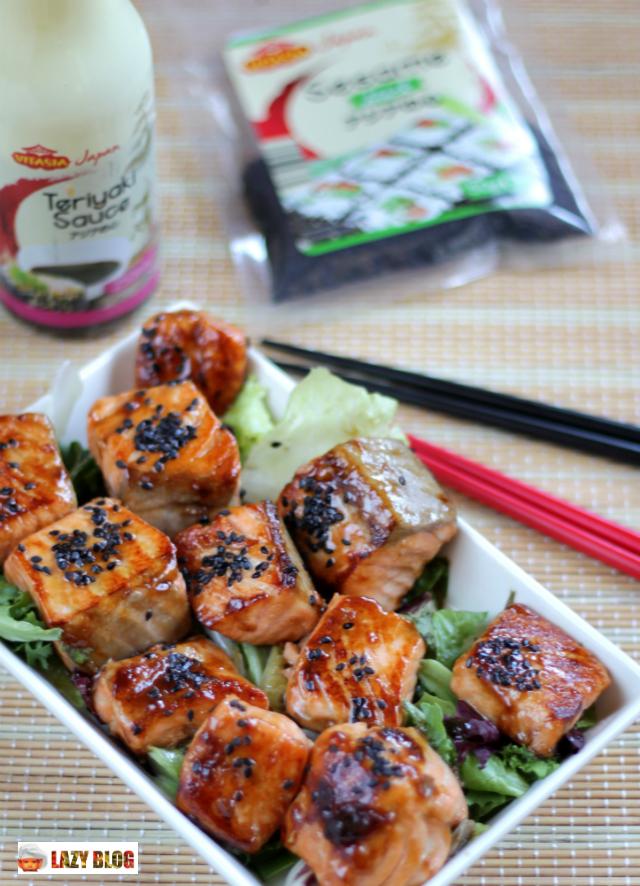 Salmon con sesamo - Lazy blog cocina ...