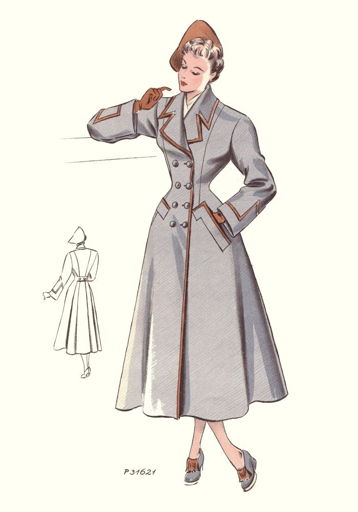 Vintage fashion Retro style fashion for muslimah