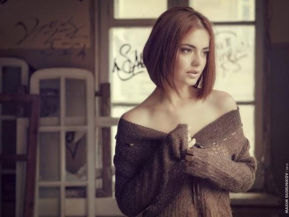 Maxim Guselnikov fotografia mulheres sensuais modelo russa Lydia Sergeeva