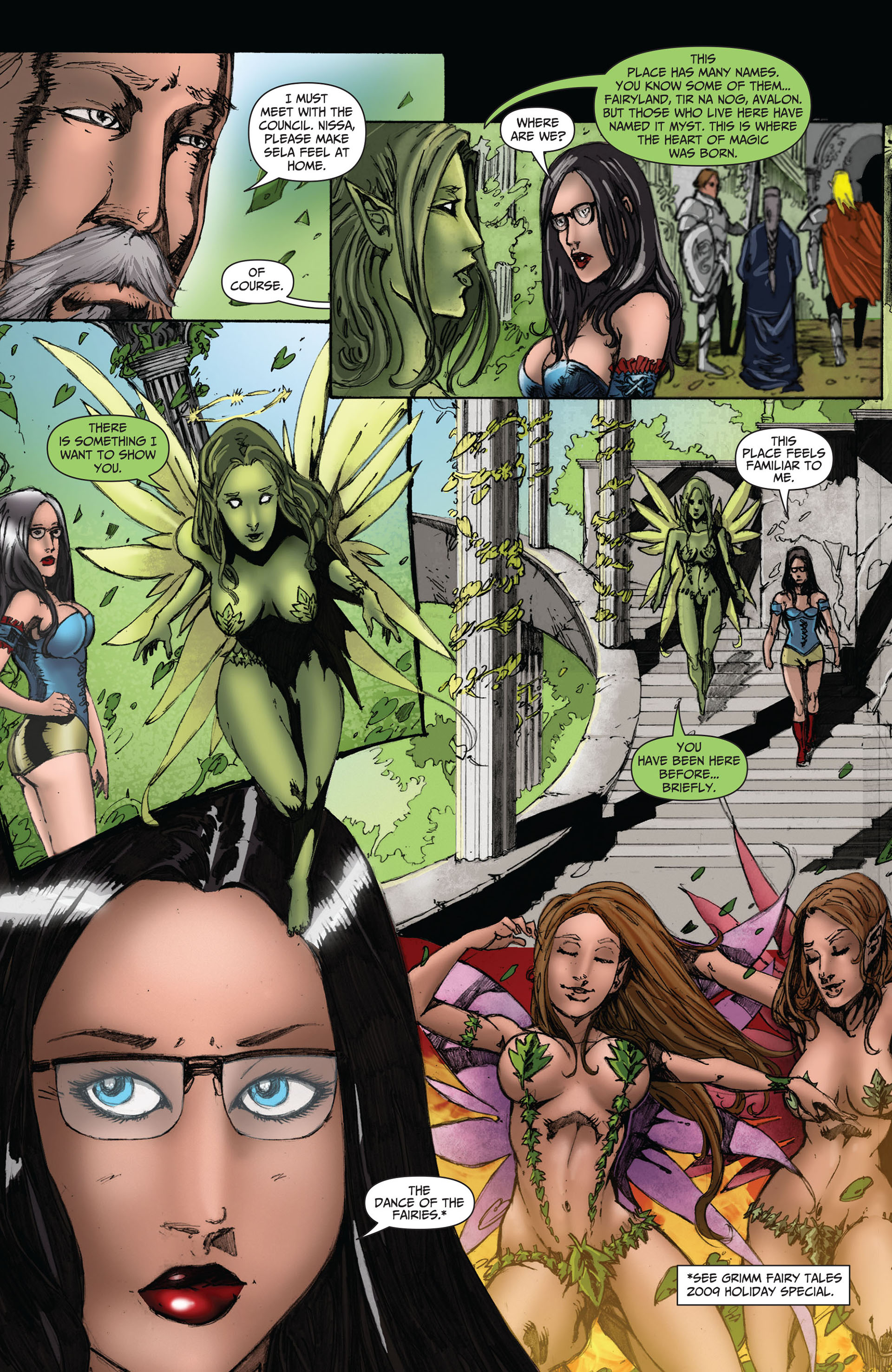 Grimm Fairy Tales (2005) Issue #49 #52 - English 4