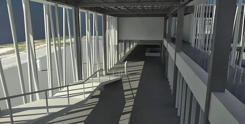 Maqueta o render grafica arquitectonica for Arquitectura 6b faudi