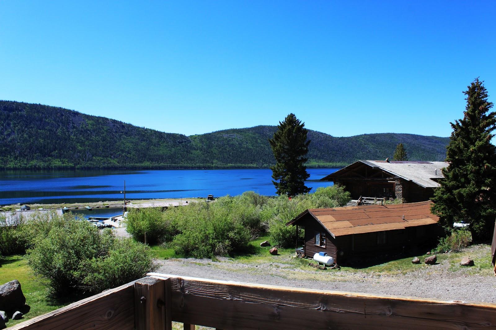 Rental cabins at fish lake utah mackinaw 22 person deluxe for Fish lake cabin