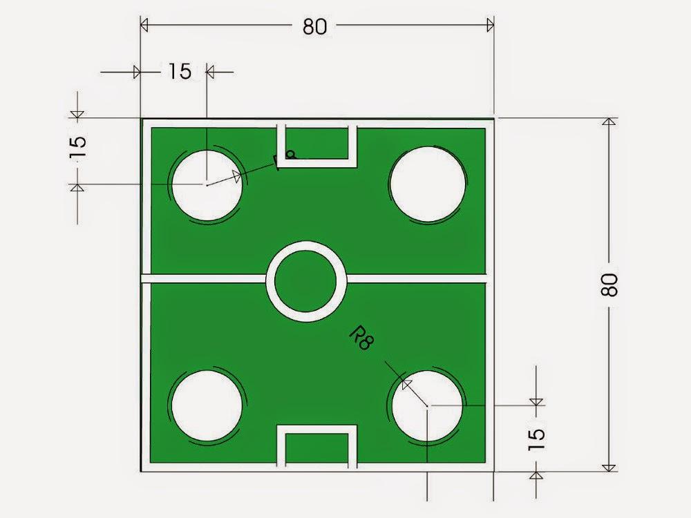 مخطط الملعب