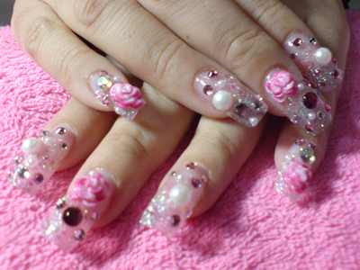 acrylic nail designs - cute acrylic nail designs ~ nail art shop