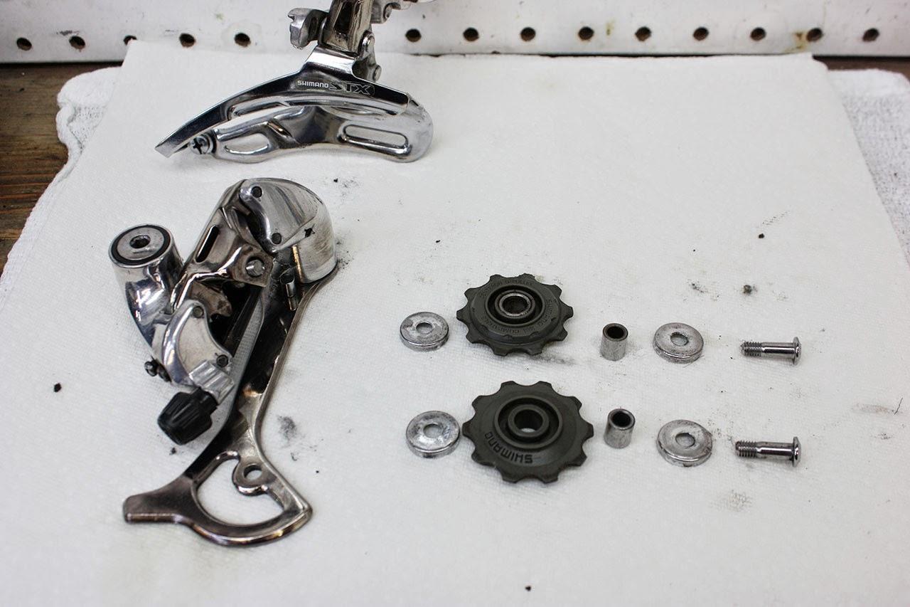 Schwinn Derailleur Parts : John s bicycle restorations david c schwinn moab
