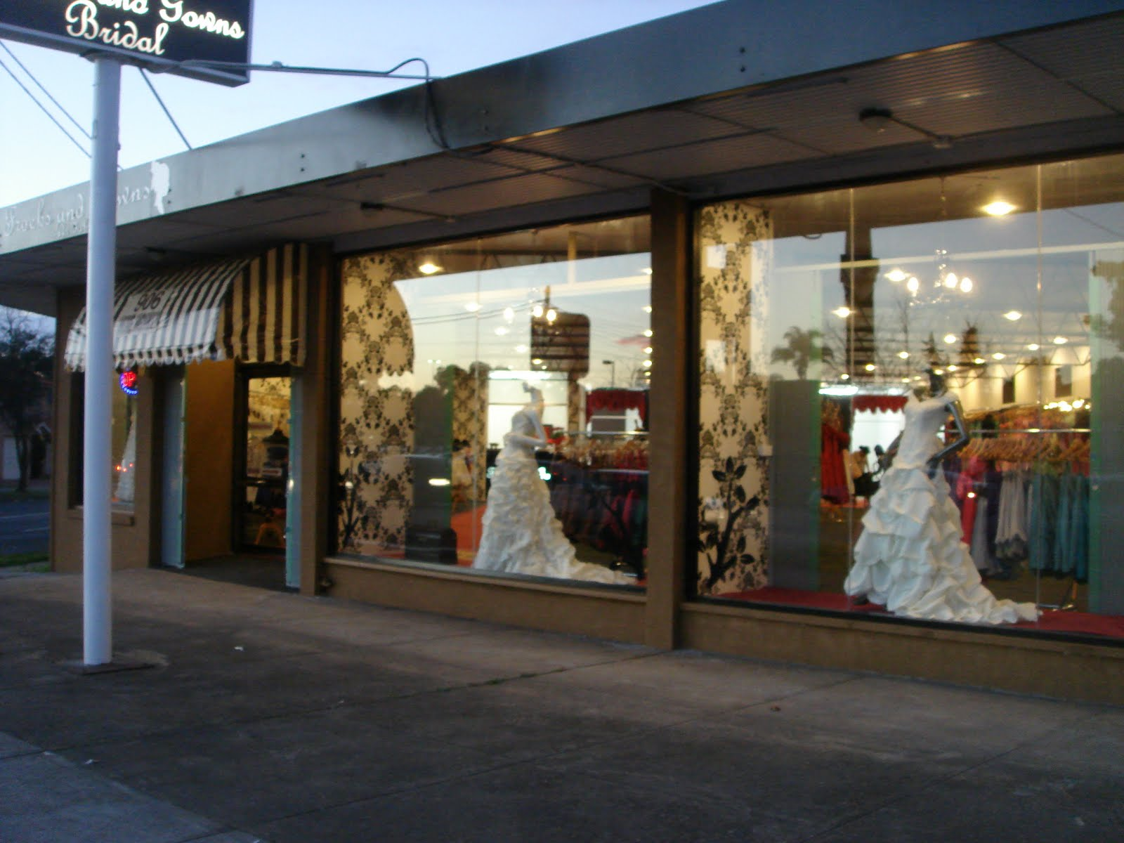 Frocks and Gowns Sydney Blog: Our beautiful showroom...