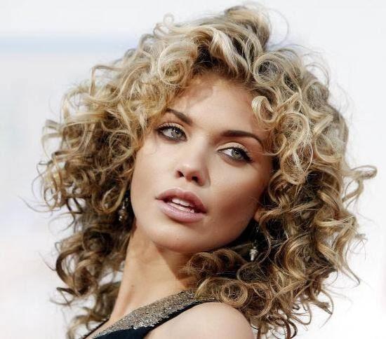 Curly Hair Models 2014