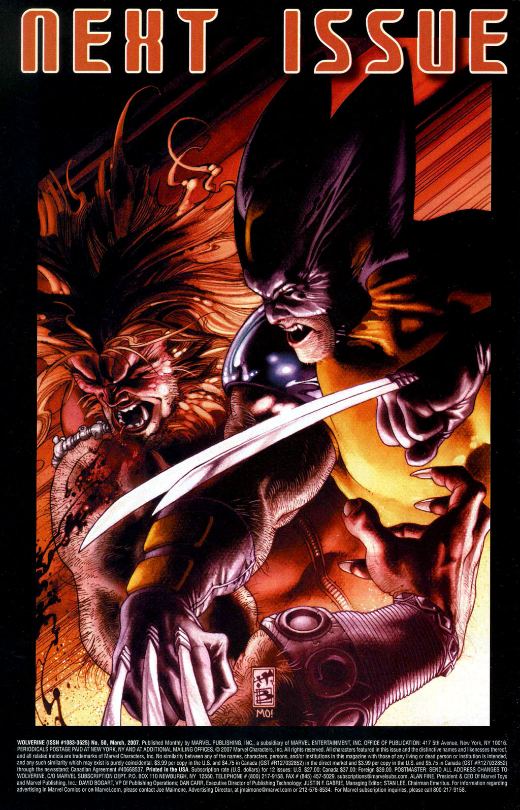 Read online Wolverine (2003) comic -  Issue #50 - 31
