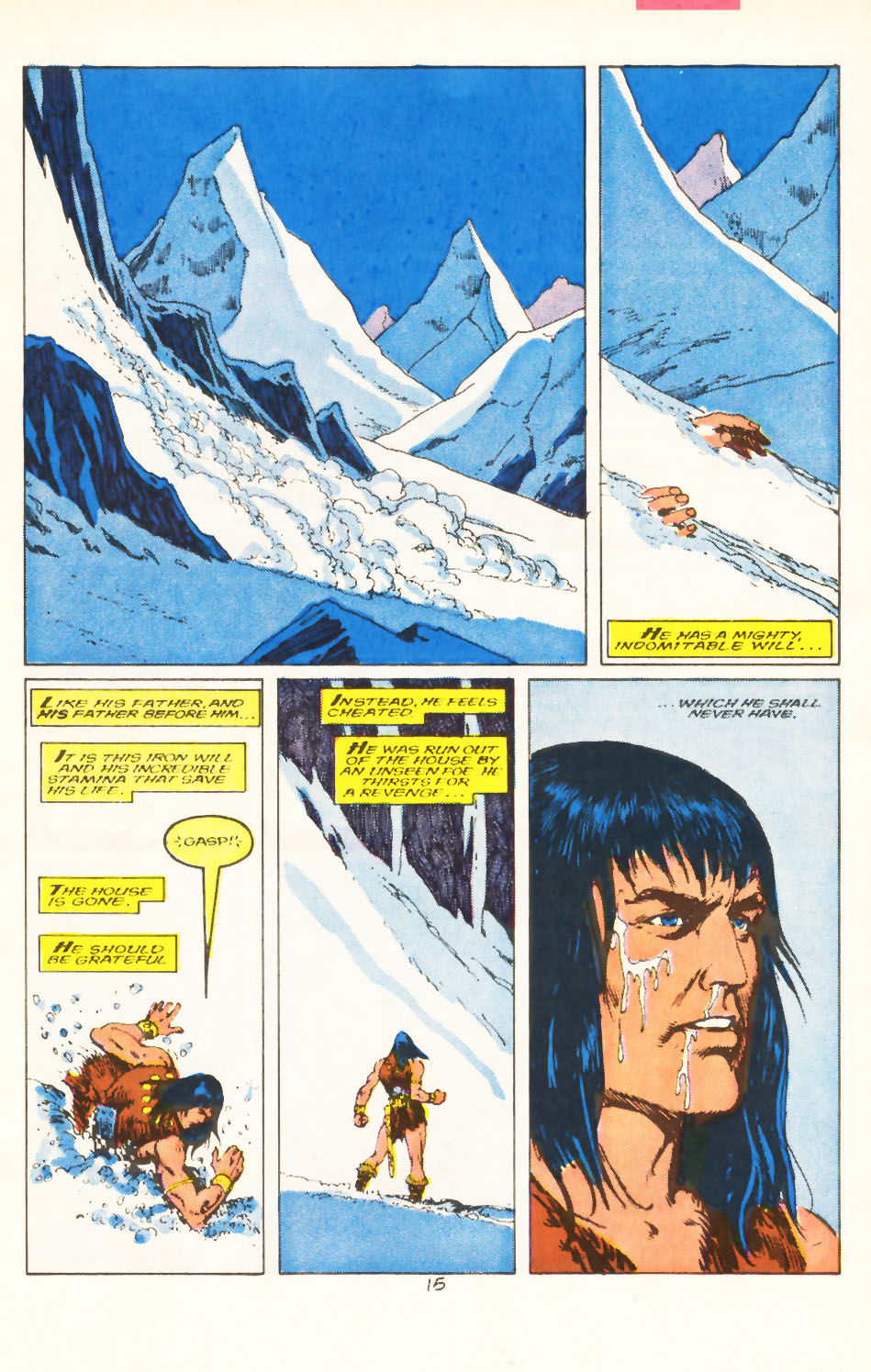Conan the Barbarian (1970) Issue #211 #223 - English 12