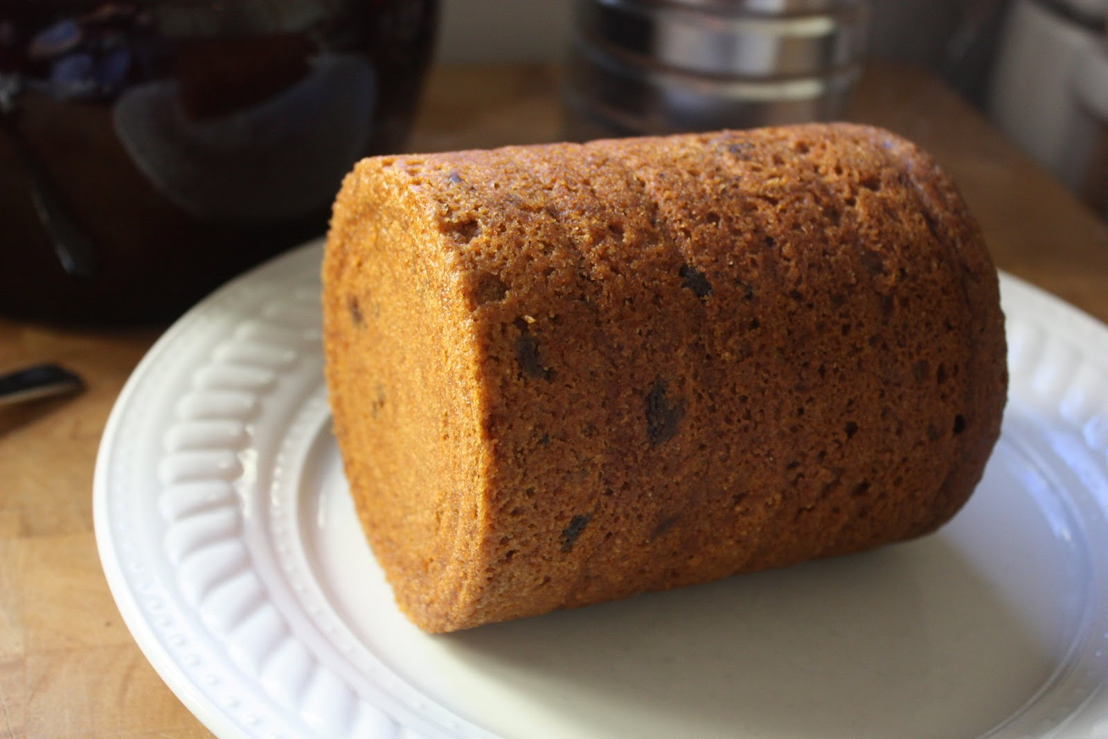 Boston Brown Bread... with a hint of maple