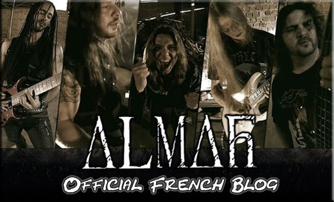 Almah Official French Blog