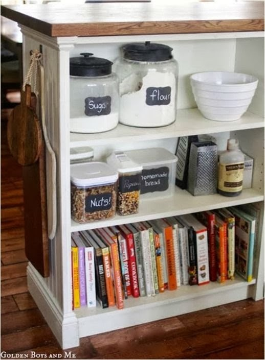 The grey home storing cooking books 11 ideas for for Kitchen ideas book
