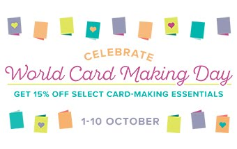 World Card Making Day Special Promotion