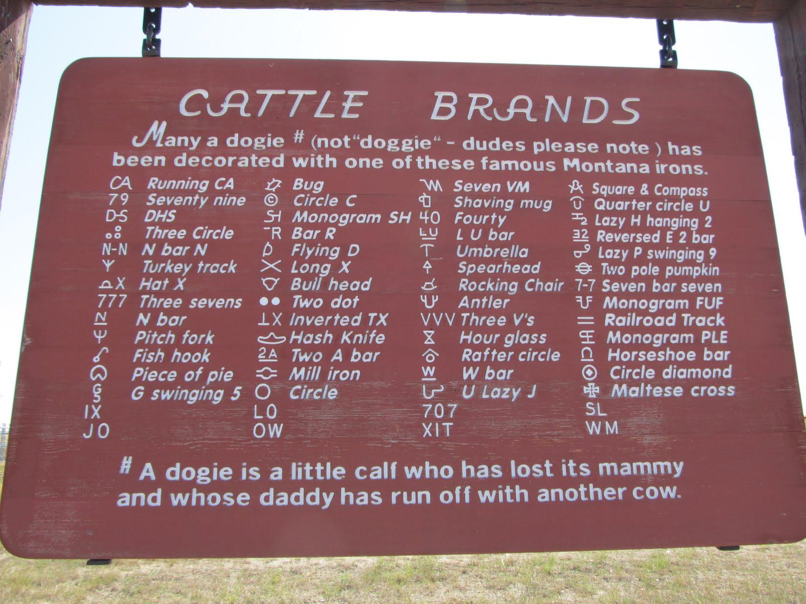 V Cattle Brands Manhattan to Astoria (...