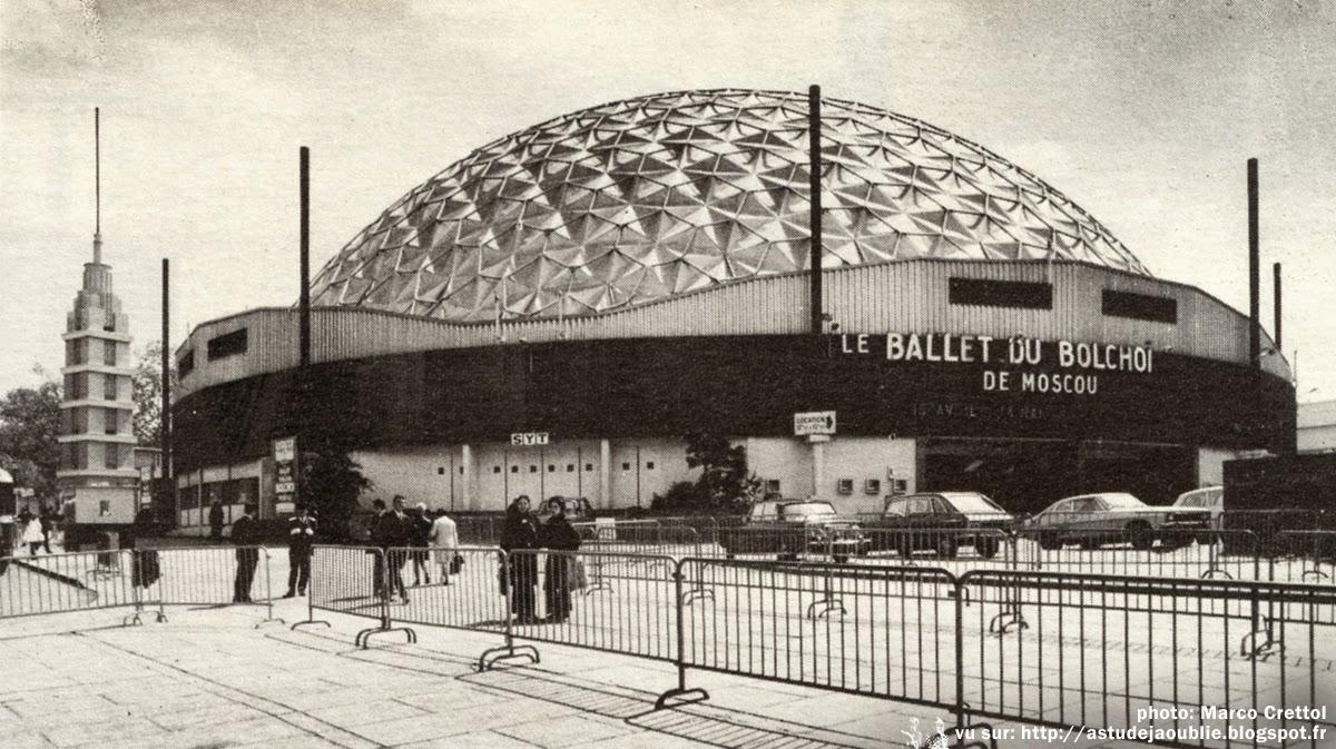 Paris palais des sports dufau buckminster fuller for Porte de versailles paris