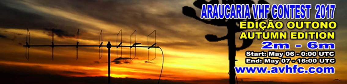 ARAUCÁRIA VHF CONTEST 2017