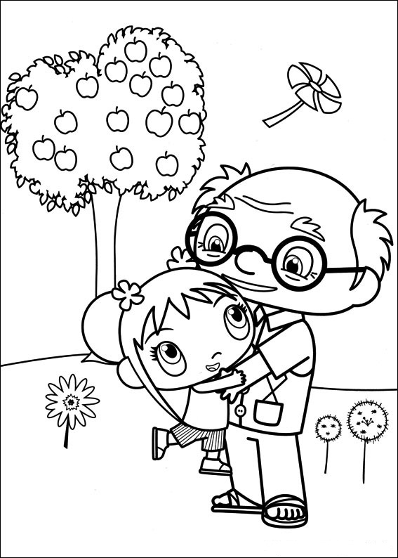 Fun Coloring Pages: Ni Hao Kai Lan Coloring Pages