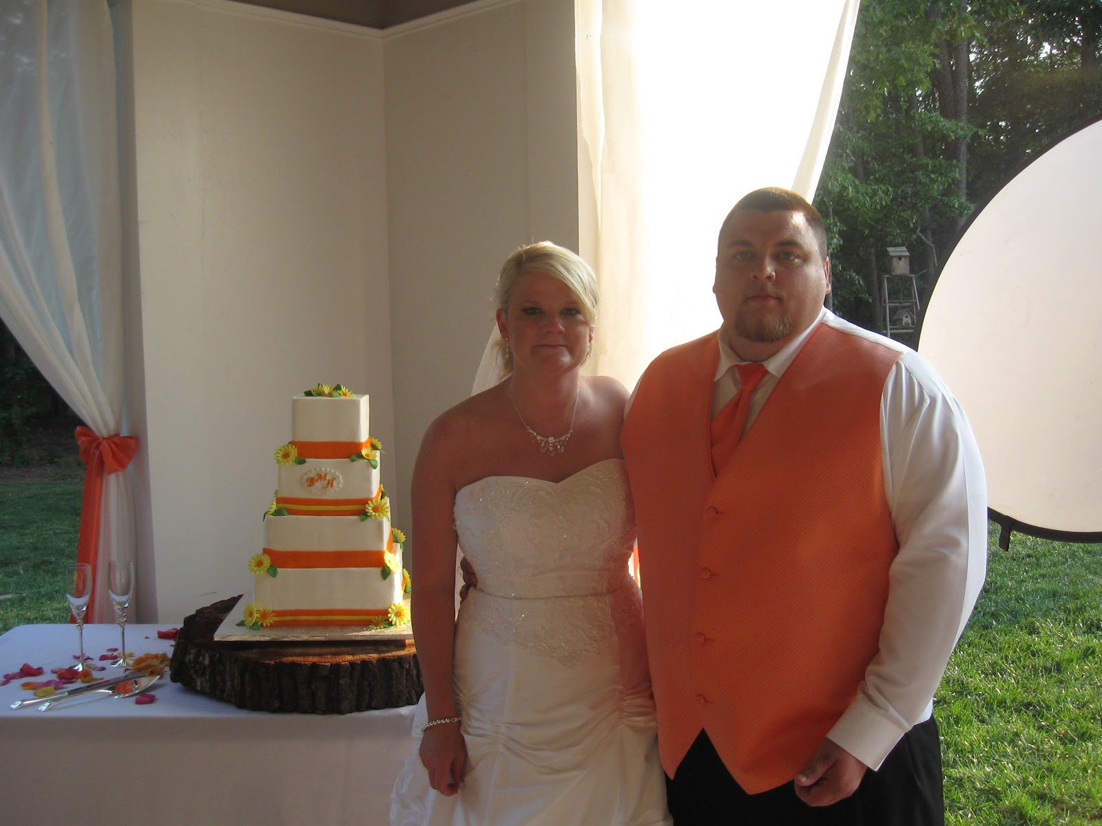 Heather and brett wedding