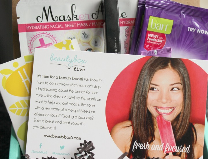 Beauty Box 5 - May 2014 Review & Unboxing