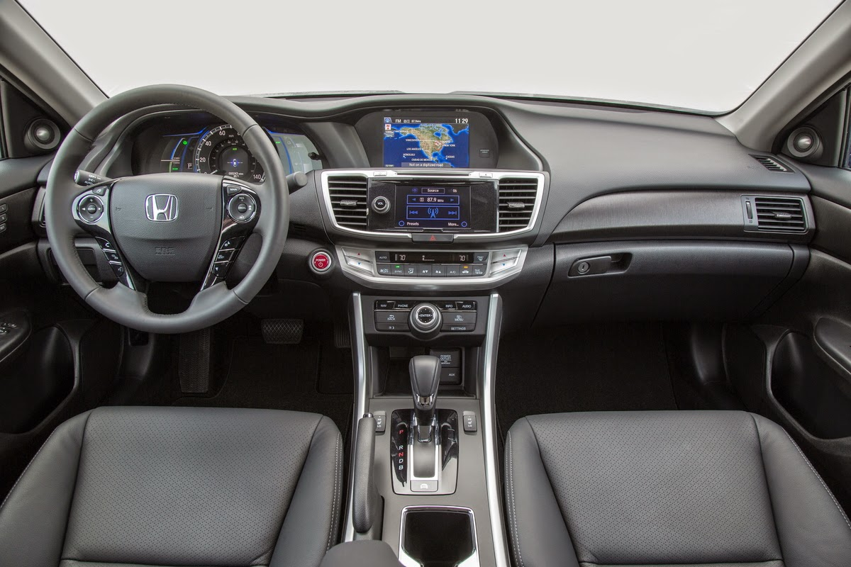 2015 Honda Accord Hybrid Touring interior