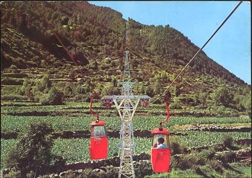 Telecabina Engolasters año 1962