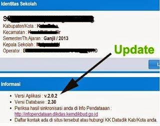 Aplikasi Dapodikdas Versi 2.0.2