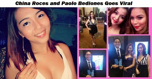 China Roces the Girl in the viral video of Paolo Bediones?