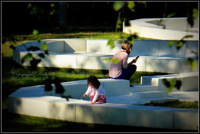 Bench banc jardin étangs Gobert Versailles