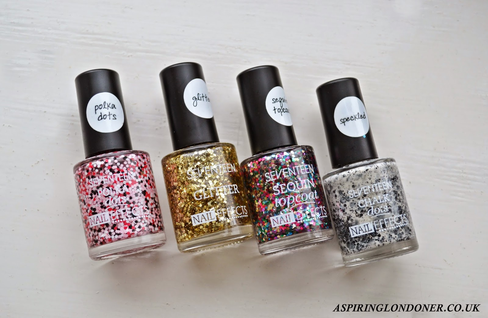 Seventeen Nail Effects Top Coat Limited Edition - Aspiring Londoner