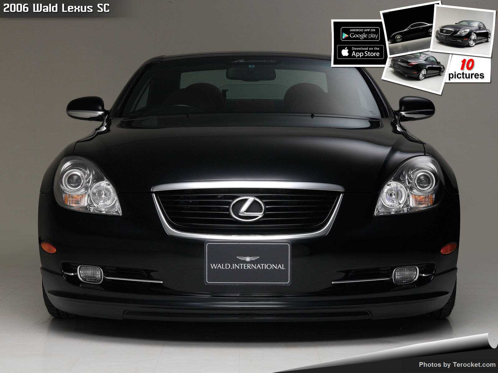 Hình ảnh xe độ Wald Lexus SC 2006 & nội ngoại thất