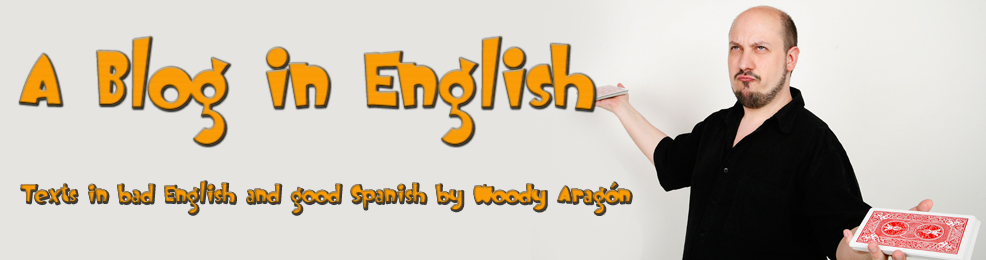 Woody Aragon - A Blog in English