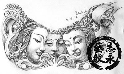 Tattoo Buddha Vorlage