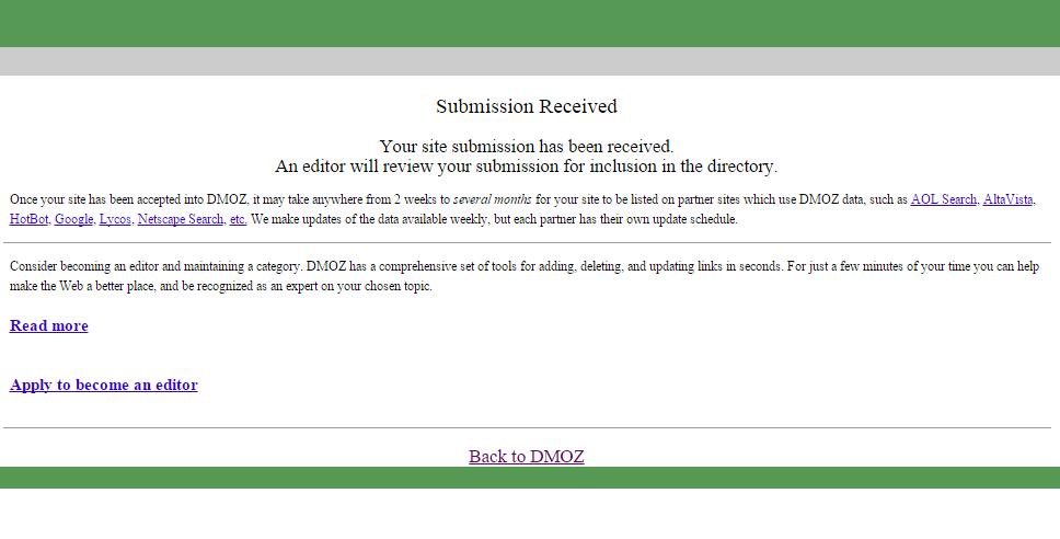 Dmoz Directory 5