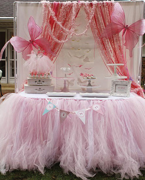 Party frosting princess ballerina party ideas inspiration for Ballerina party decoration ideas