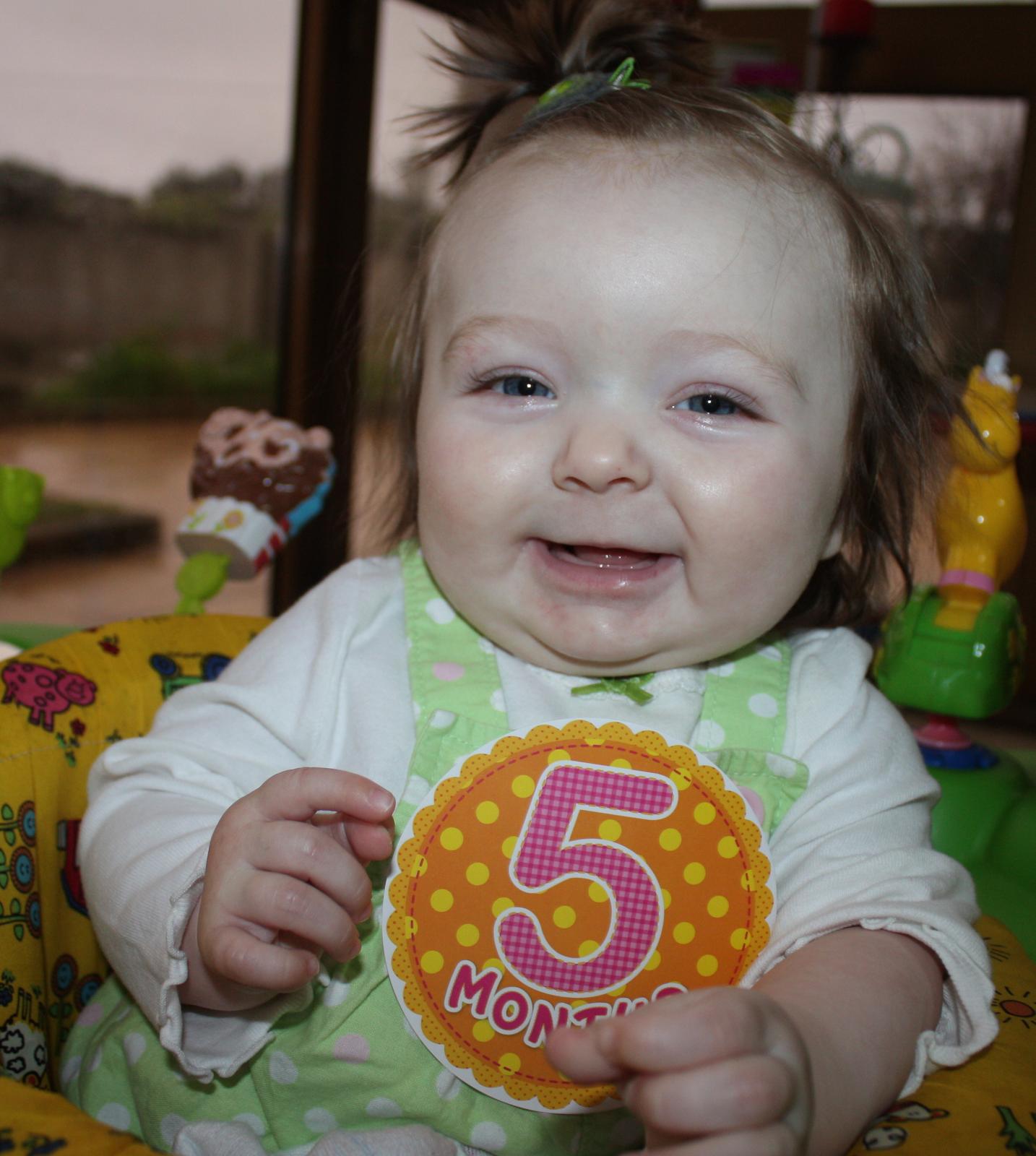 Hannah (Five months)