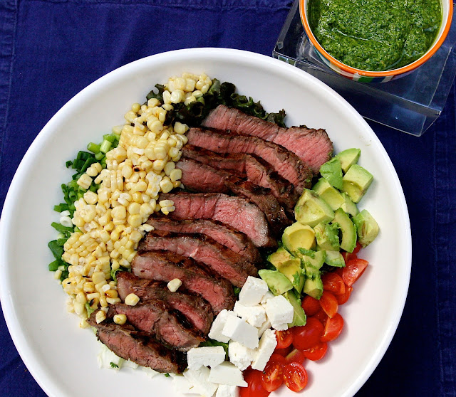 best steak salad recipe mixed vegetable salad salad with pesto