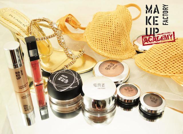 Sommer-Makeup