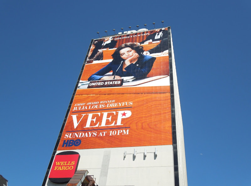 Veep season 2 billboard