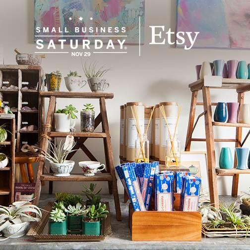 Etsy small business saturday - linaandvi