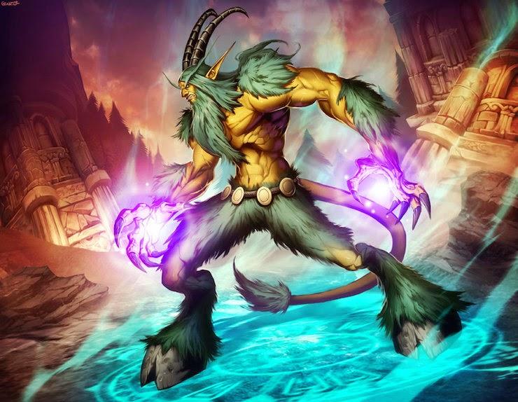 Fan Art de los personajes de World Of Warcraft