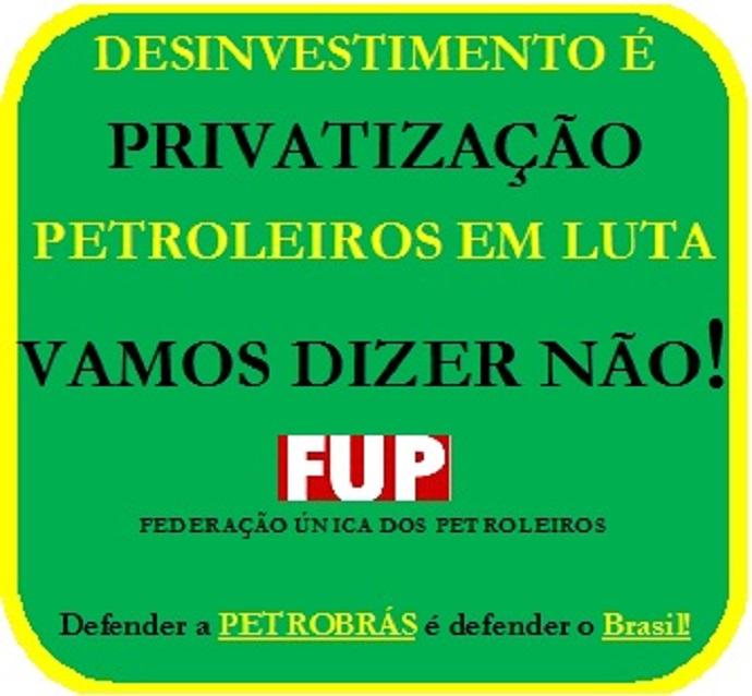 Privatização não!