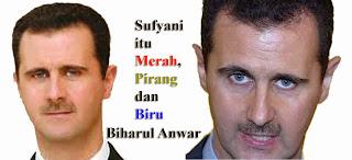 Syiah Sufyani Bashar Assad as Suryani