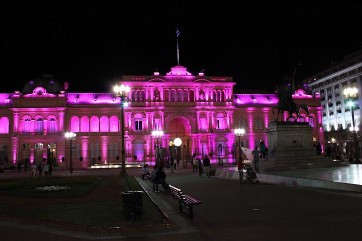 Casa Rosada (det rosa huset)