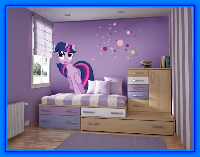 Decoracion de habitaciones con vinilos decorativos web for Vinilo para habitacion de nena